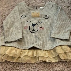 EUC baby girl's sweater